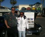 Chad McQueen at Venice Beach Mustang unveiling