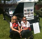 Brittney & Courtney Force at Fabulous Fords Forever, 2012