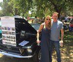 Mark Kriski & Jennifer Gould at LAPD show
