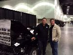 Mike Brewer & Chip Foose at LA Convention Center show 2017.